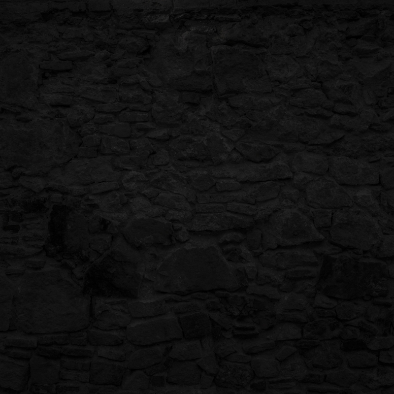 51532810 – highly detailed and empty black stone wall. horizontal